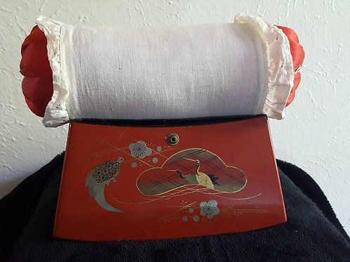 Antique Japanese Pillow