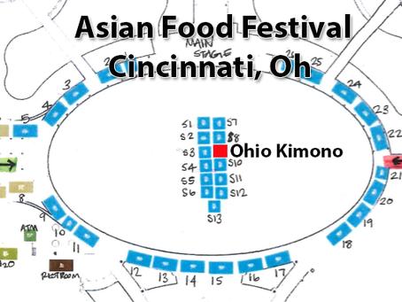 Asian Food Festival - Cincinnati, Ohio!