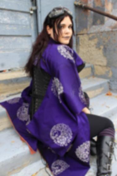 Alternative Kimono Fashion With Corset