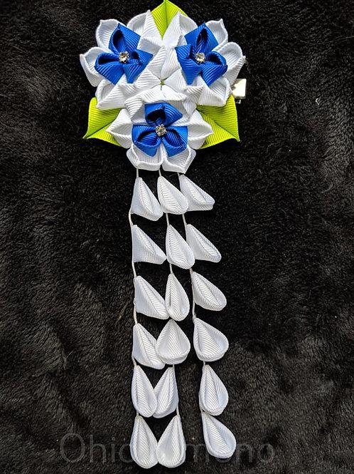 flower kanzashi