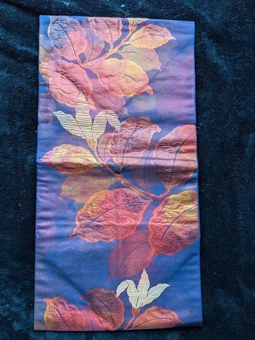 blue nagoya obi for japanese kimono