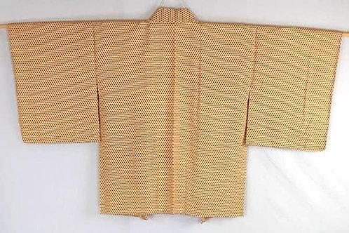 yellow vintage haori for women