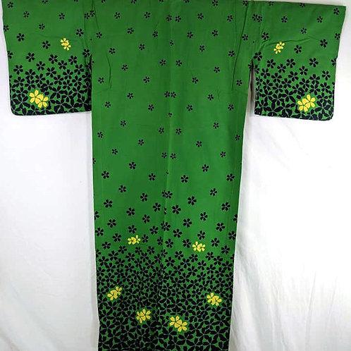 green yukata