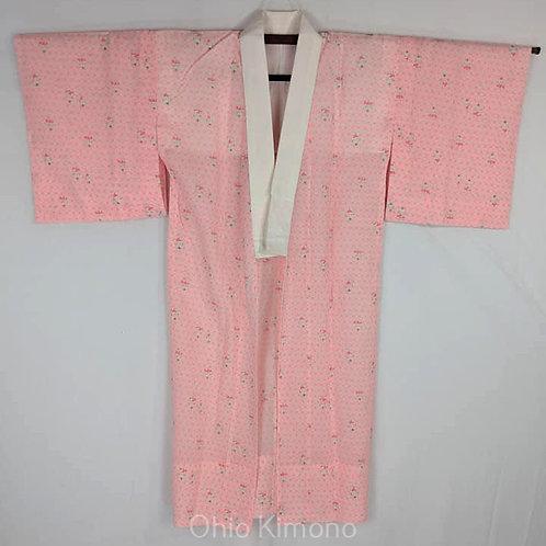 Pink & White Juban