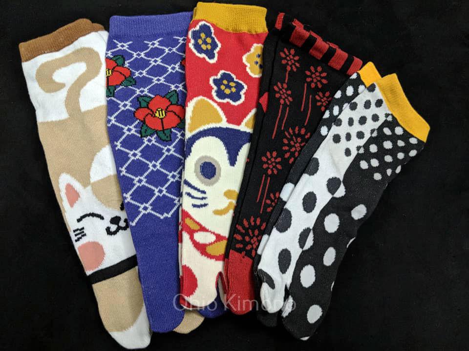 tabi socks for kimono