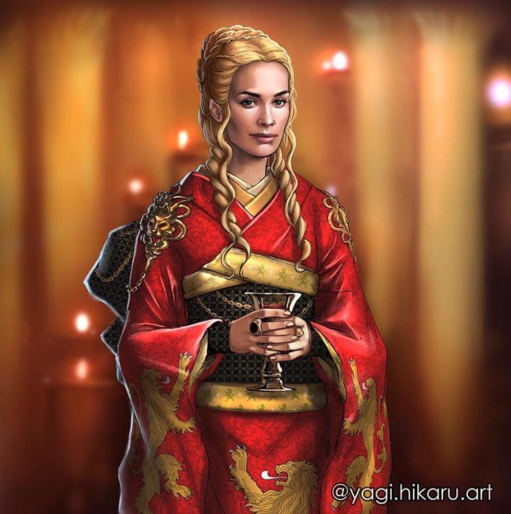 Game Of Thrones Japanese Kimono Kitsuke