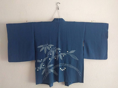 Royal Blue Haori