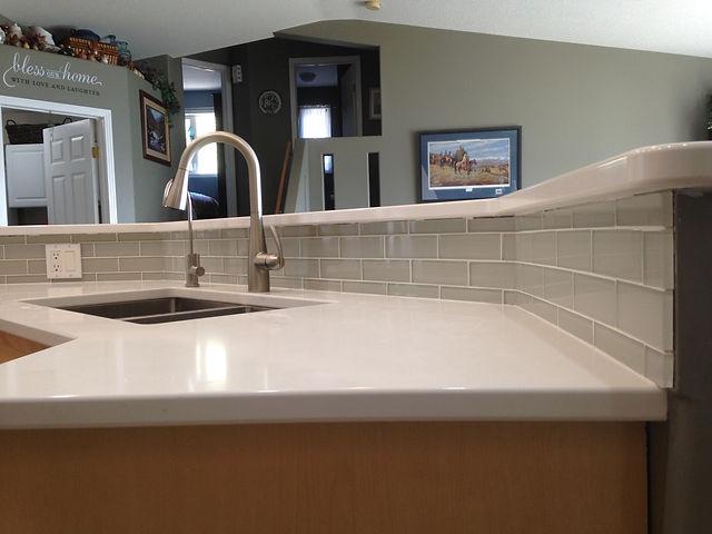 mosaic tile backsplash kitchen Brandon M