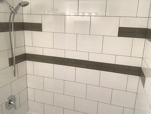 Bathroom tile tub surround Brandon MB