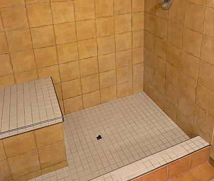 Tile walk-in shower installation Brandon