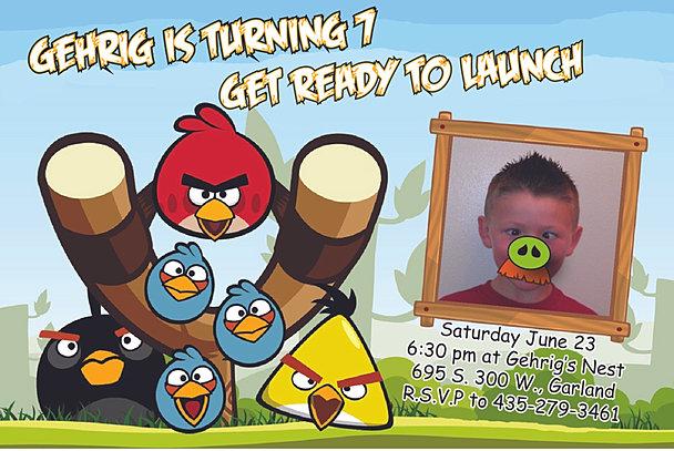 Marketing Spot On Design - Birthday invitation card for 7 years old boy