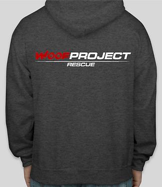 Woof Project Full Zipper Hooded Sweatshirt