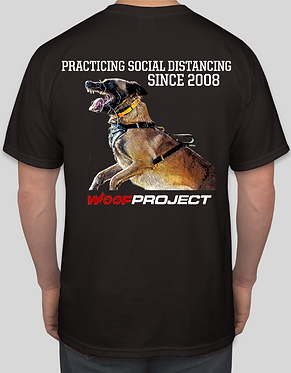Woof Project Social Distancing T-Shirt