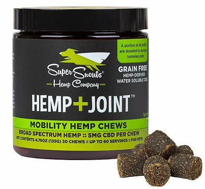 Grain-free Hemp+Joint 30CT Broad Spectrum Mobility Hemp Chews