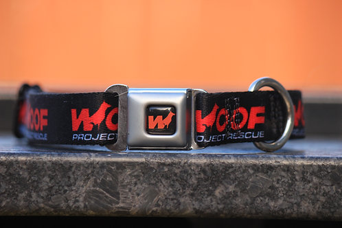 "Woof Project Collar 9-15"" only"