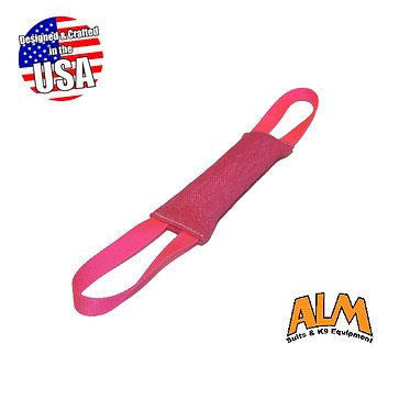 "8"" x 2.5"" Hot Pink Tug with 2 Pink Handles"