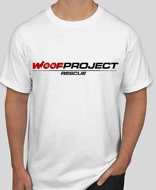 100% Cotton Woof Project Logo Unisex T-Shirt