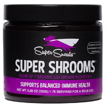 Super Snouts Super Shrooms 5.29oz (150g) Jar W/ Scoop