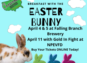 Breakfasts With The Easter Bunny!