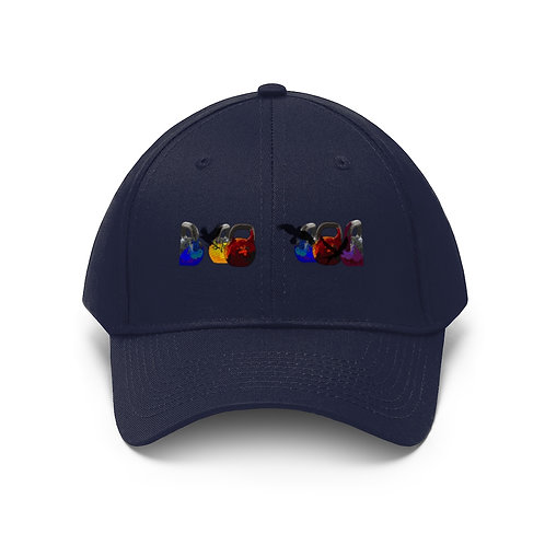 Kettlebell fly Unisex Twill Hat