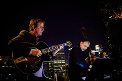 Guitarist Steve Cotter and bassist Chris Colangelo