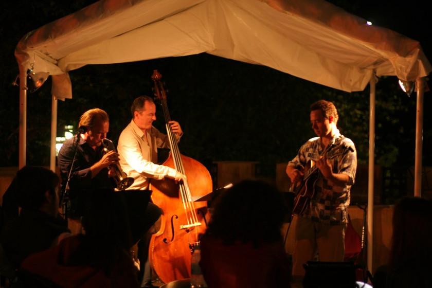 The Brian Swartz Trio at Angel City Jazz Fest.