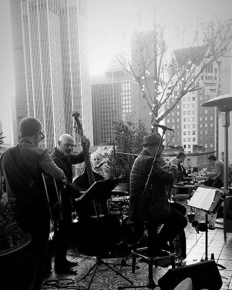 The Brian Swartz Quartet at Perch 7-17-18