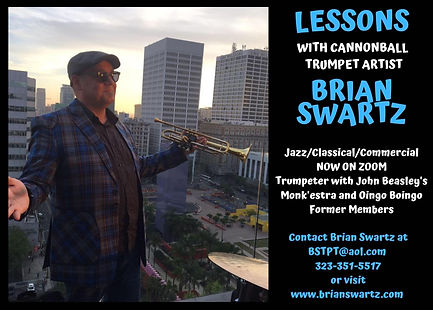 Trumpet Lessons with Cannonball Artist B