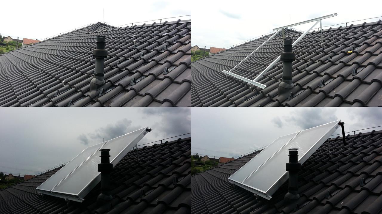 Ploché solární kolektory
