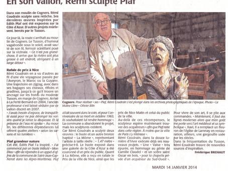 En son vallon, Rémi sculpte Piaf