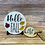 Thumbnail: Hello Fall Circle Shelf Sitter with Easel