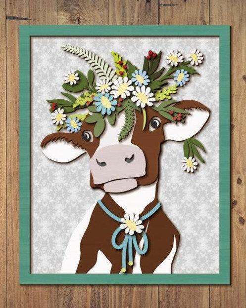 Cow, Goat or Chicken DIY CraftBox