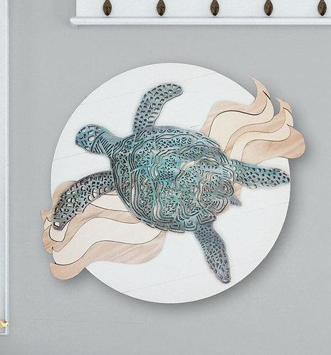 3D Mandala Sea Turtle DIY Kit