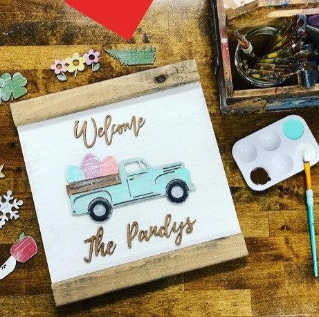 DIY Old Fashion Truck Kit