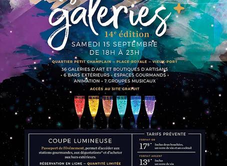 LA NUIT DES GALERIES 2018