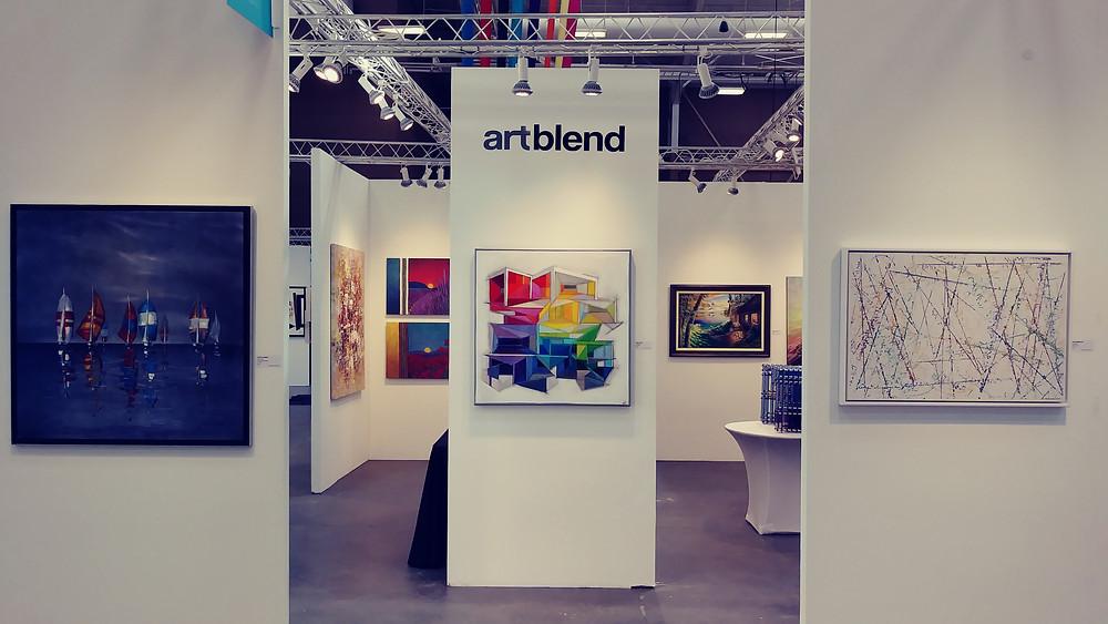Artblend Gallery au Art San Diego