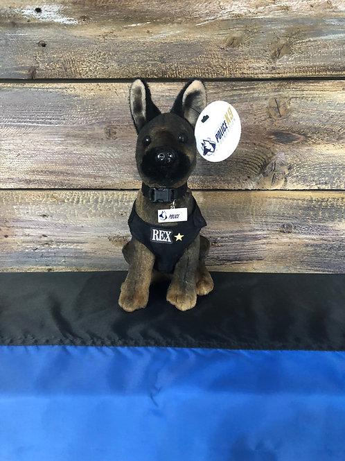 K9 Rex Hero Dog Plush Toy