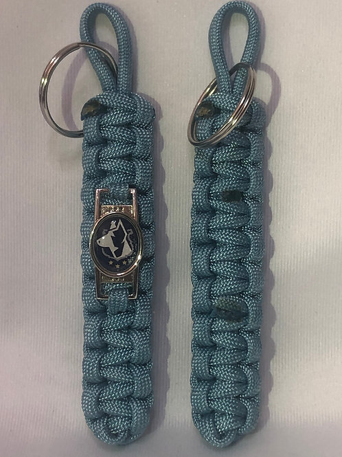Paracord Keychain (Maya Blue)
