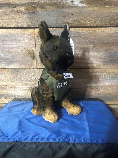 K9 Kaos Hero Dog Plush Toy