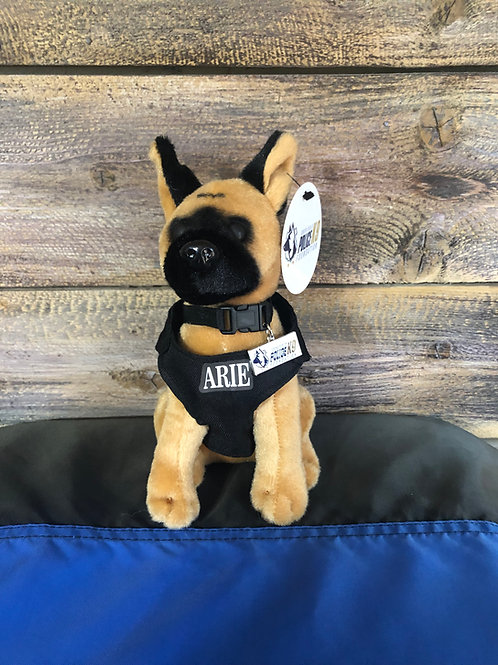 K9 Arie Hero Dog Plush Toy