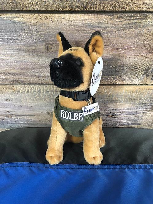 K9 Kolbe Hero Dog Plush Toy