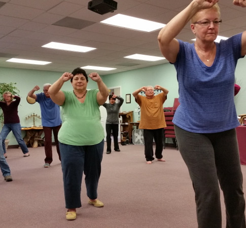 Tai Chi Class at Unity March 2018