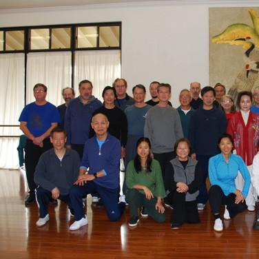 Tai Chi Sword Seminar Jan 13-15, 2018 Cupertino, CA