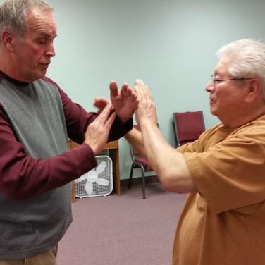 Push Hands Practice March 2018
