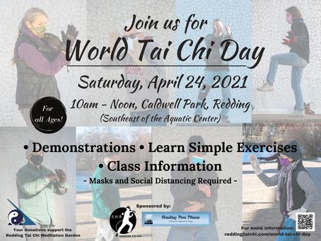 Mark your Calendar for World Tai Chi Day!