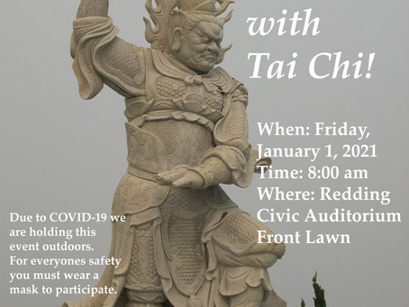 6th Annual Start the New Year with Tai Chi