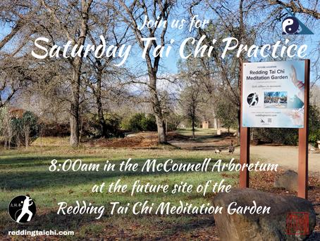 Saturday Tai Chi Practice -all are welcome!