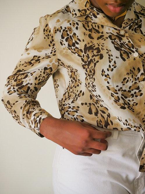 Leopard Blouse (10-12)