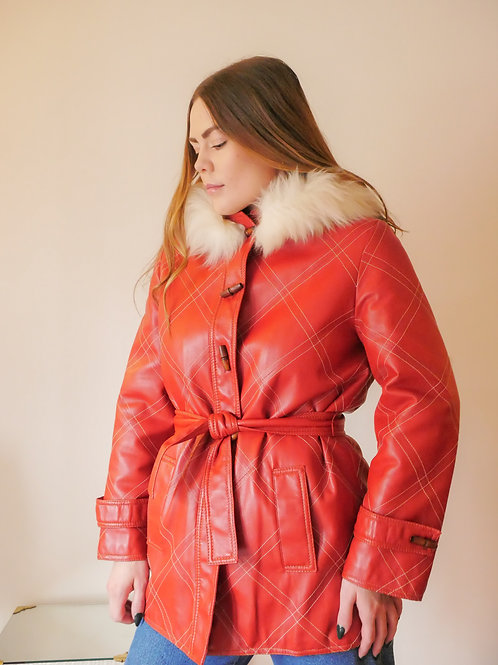 Cherry Leather Jacket (2-6)
