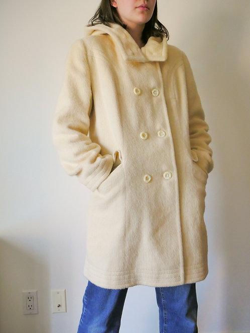 Buttermilk Wool Coat (4-8)